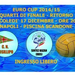 Euro Cup: ritorno Quarti di Finale