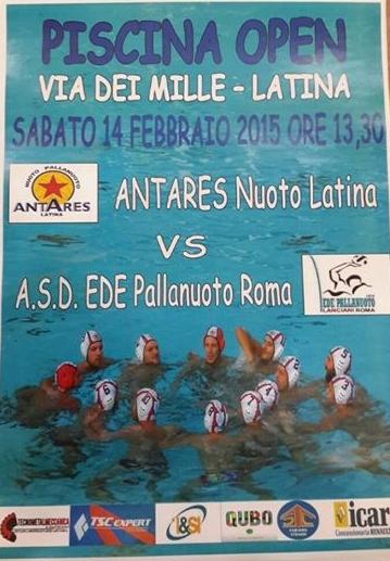 La locandina della Serie C Antares vs Ede by Iaccarino-Fotolandia