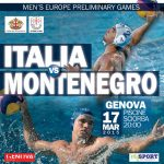 Waterpolo World League 2015: Italia – Montenegro