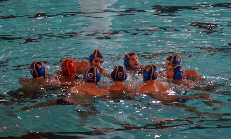 La grinta della Promozione dei ragazzi del Latina Nuoto