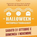Tornei – Roma Nuoto, tutto pronto per l'Hallowen Waterpolo