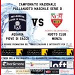 B M – XII di campionato: Aquaria – Nuoto Club Monza