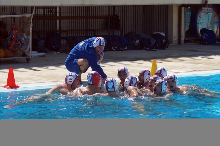 La grinta della Latina Nuoto Promozione