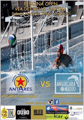 Locandina Serie C Antares - Anguillara