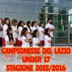 U 17 F – La SIS Roma campione del Lazio