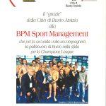 Attestato di congratulazioni per la SP Management