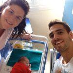 RN Bogliasco: è nata Isabella primogenita di Tommaso Congiu