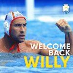"""A1 M – Alla Pro Recco un gradito ritorno: Guillermo """"Willy"""" Molina"""