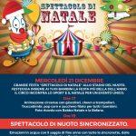 Spettacolo di Natale allo Stadio del Nuoto di Bari