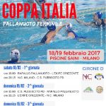 Coppa It F – Coppa Italia a Milano