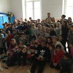 Un tuffo a scuola per Michael Bodegas e Andrea Fondelli