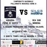 B M – IX di Andata: Aquaria – Sea Sub Modena