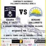 B M – VIII di Ritorno: Aquaria vs Bergamo Pallanuoto