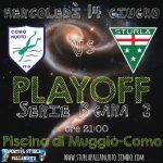 B M Play Off – Sportiva Sturla – Como Nuoto 9-12