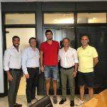 """A2 M – La RN Salerno nelle mani del """"gigante Simone Santini"""""""
