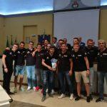 B M – La Busto PN Renault Paglini festeggiata in Comune per la promozione in serie B
