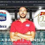 A1 M – La Seleco Nuoto Catania affronta in casa la CC Napoli