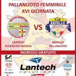 A1 F – Lantech Girls in cerca di riscatto contro Rapallo