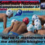 U17 M SF – Ossidiana e Messina si preparano alle semifinali under 17