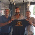 Cristiano Caccavello preparatore dei portieri per l'Antares Nuoto Latina