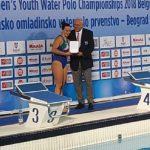 RN Florentia: Caterina Banchelli miglior portiere ai mondiali under 18