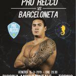 Champions League – La Pro Recco fa scalo a Torino