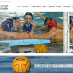 B M – Restyling sito web Circolo Canottieri Lazio Waterpolo