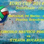 Euro Cup: conferenza stampa CN Posillipo
