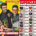 L'inno della Roma Vis Nova in classifica su Sorrisi e Canzoni