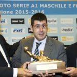 La RN Bogliasco riceve il Trofeo del Giocatore