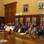 Bari: il Setterosa al completo accolto a Palazzo di Città da sindaco e assessore allo Sport