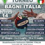"Tornei – 1° edizione ""Bagni d'Italia"""