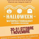 Tornei – Roma Academy Hallowen Waterpolo Tournament al via