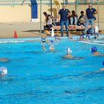 Stanno per i tuffarsi in piscina i giovani della Polisportiva Messina