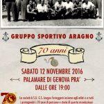 I 70 anni del Gruppo Sportivo Aragno