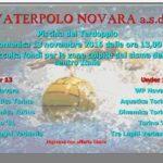 Tornei – WP Novara per il sisma