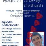 Memorial Stefano Pulvirenti organizzato dal CC 7 Scogli