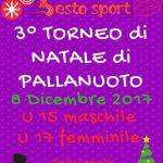 Sesto Sport: Torneo di pallanuoto di Natale