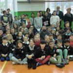 Pro Recco: una mattinata a scuola per il Presidente Felugo
