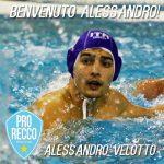 A1 M – La Pro Recco ingaggia Alessandro Velotto