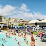 Emergenza caldo alla piscina Aquacenter i Delfini Prà