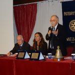 Pol. Messina: consegnata la targa Rotary al Presidente Giuseppe Carmignani