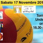 Tornei – Sabato 17 novembre torneo Under 15