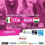 Il Setterosa contro l'Ungheria a Verona