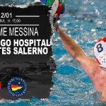 A2 M – Riparte il campionato, la Campolongo Hospital RN Salerno di scena a Messina