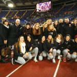 A1 F – La Sis Roma sotto la Curva Sud dell'AS Roma