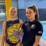 Convocazione al raduno collegiale di Ostia per Maria Meccariello e Sara Carosi dell'F&D H2O Velletri