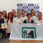 Le ragazze della Cosma Vela Ancona premiate in Regione per la promozione in A1