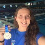 Elena Borg del Css Verona rientro con un argento dalle Universiadi