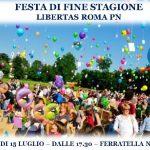 Festa grande alla Libertas Roma Eur